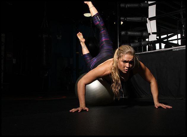 Rhonda Rousey's favorite moves & diet info