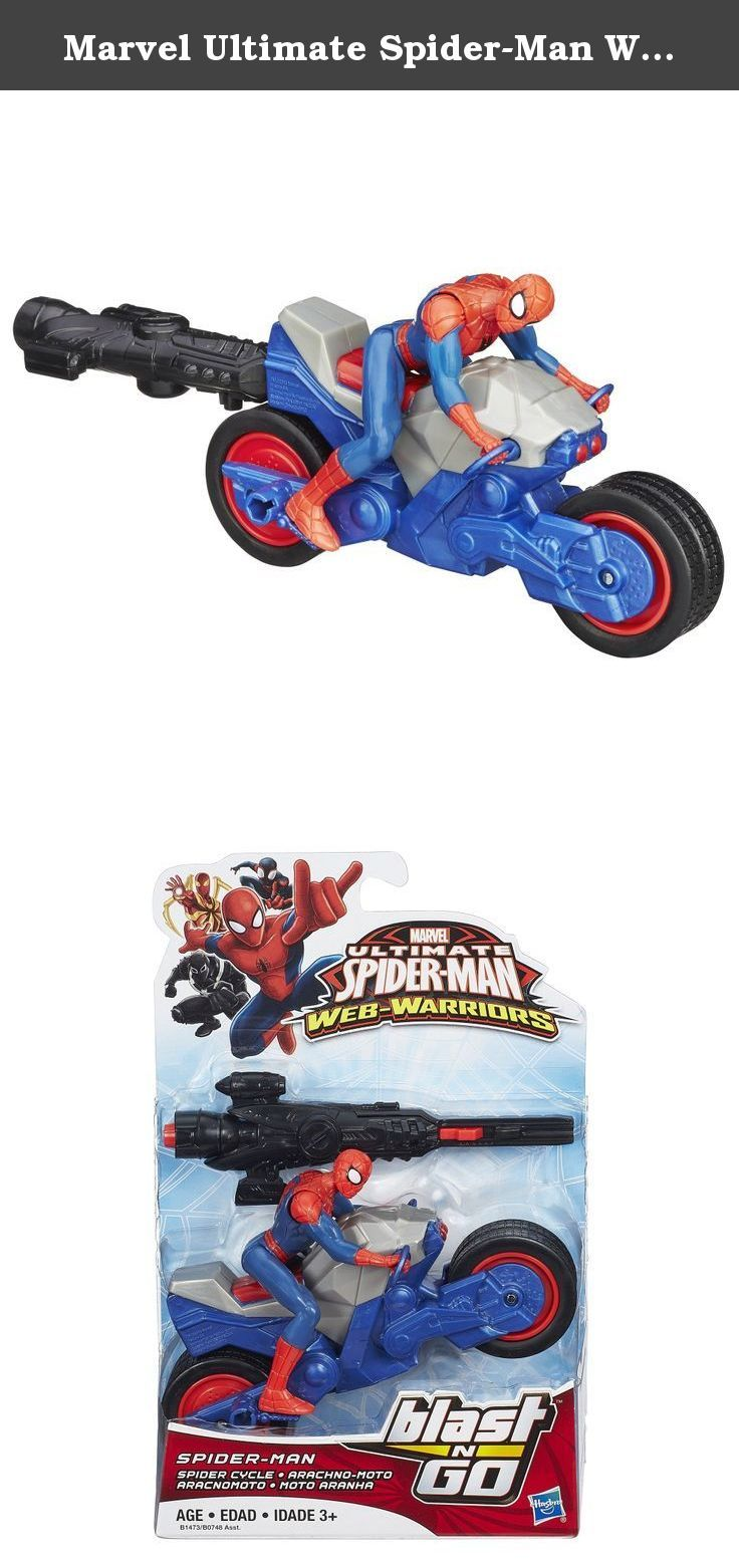 Marvel Ultimate Spider-Man Web Warriors Spider-Man Spider Cycle Vehicle. Marvel Ultimate Spider-Man Web Warriors Spider-Man Spider Cycle Vehicle.
