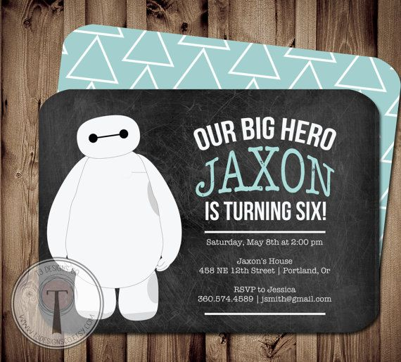 Hey, I found this really awesome Etsy listing at https://www.etsy.com/listing/172865778/birthday-hero-invitation-hero-birthday