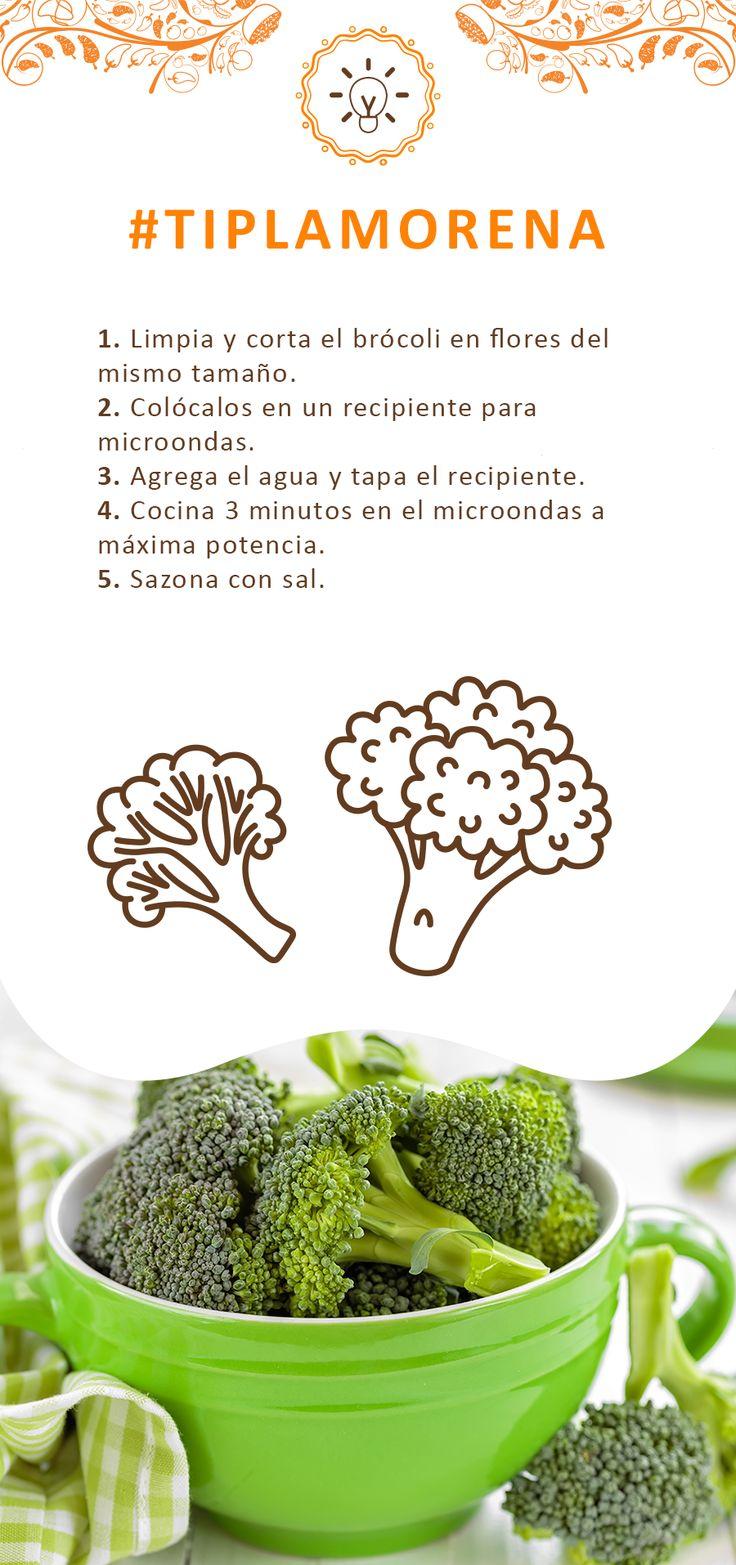 Te decimos cómo preparar brócoli con ayuda del microondas en pocos minutos.