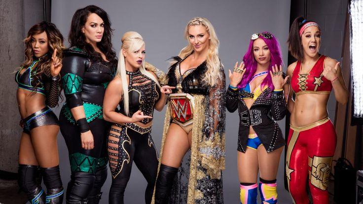 Survivor Series Team: Raw Women's Team: Alicia Fox, Nia Jax, Charlotte Flair (with Dana Brooke), Sasha Banks & Bayley