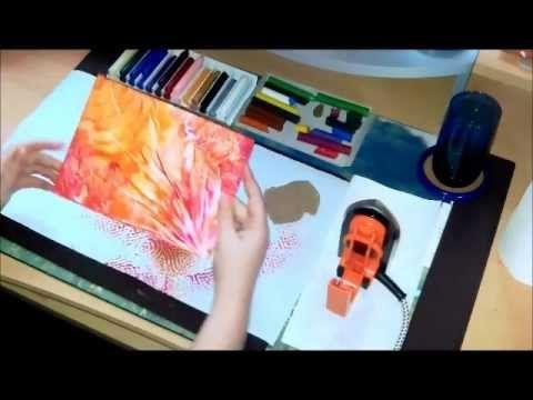 Die vier Grundeffekte der Encaustic-Malerei - YouTube