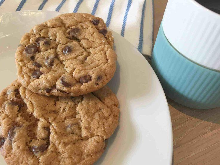 Originale chocolate chip cookies – Helt op til månen – Opskrifter