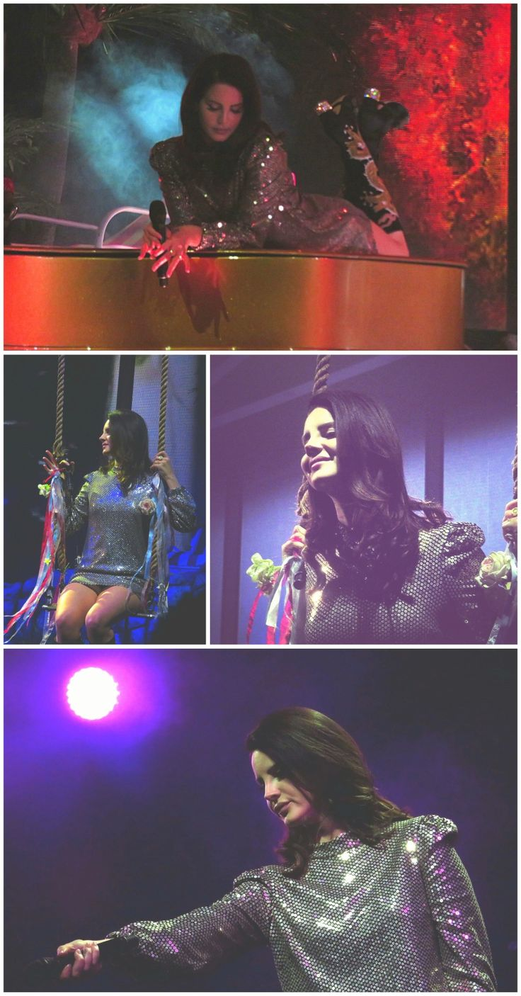 Feb.16, 2018: Lana Del Rey performing in Las Vegas, NV #LDR #LA_to_the_Moon_Tour