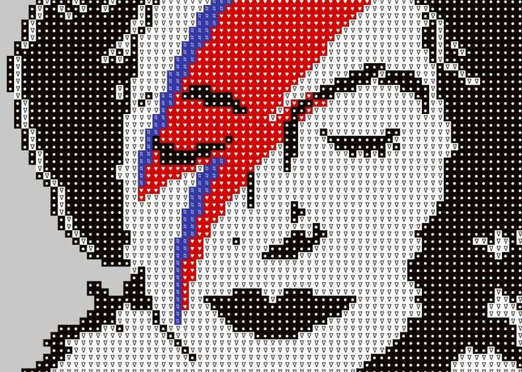 Knit a Banksy! Lots to choose from. Cross stitch too. Also good for crochet. Free PDF Downloadable charts