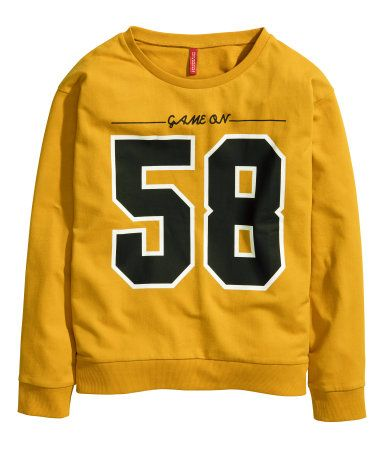 H&M Sweatshirt mit Druck 9,99 € 34-4543