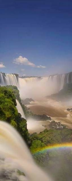 Iguaçu Falls - BRAZIL janetmillslove.tumblr.com/post/121830337806/iguacu-falls-brazi-moment-love