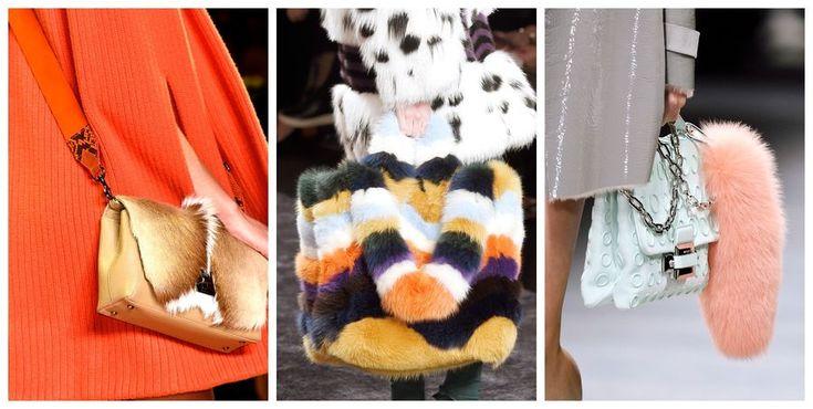 Modne torebki [jesień-zima 2016/2017], Akris, Fendi, Versace, fot. Imaxtree, kolaż ELLE.pl