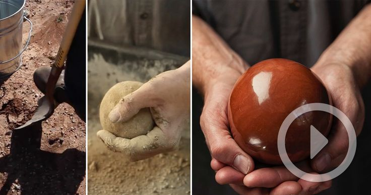Artist Bruce Gardner is a master of a curious Japanese artform called hikaru dorodango (literally: 'shiny dumpling') where regular dirt is slowly crafted into perfect shiny spheres. The objects take several hours make as increasingly finer particles of dirt are applied to create each l