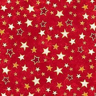 Winter Magic Stars Red