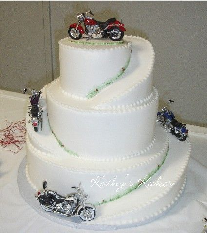 wedding cake cakes pinterest bikes birthday cakes and wedding cakes. Black Bedroom Furniture Sets. Home Design Ideas