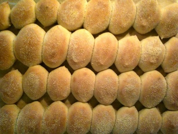 Filipino Pandesal Bread   1/2 cup water  1/4 cup evaporated milk  1/2 cup milk  1 egg  1/2 cup sugar  3/4 teaspoon salt  5 tablespoons softened butter  1 tablespoon oil  4 cups flour  3 teaspoons yeast  breadcrumbs