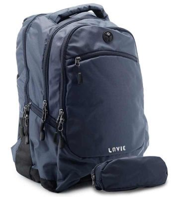 Lavie Ipack 2 Laptop Backpack - Navy Blue