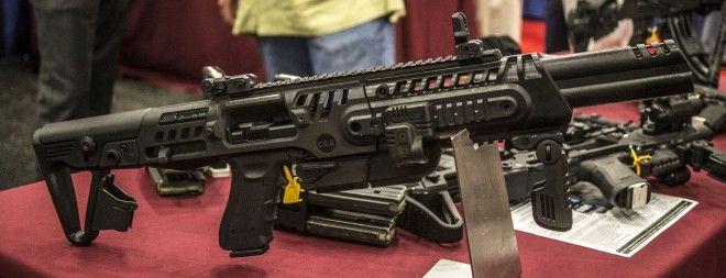 CAA RONI 16″ Barrel Glock Carbine Conversion