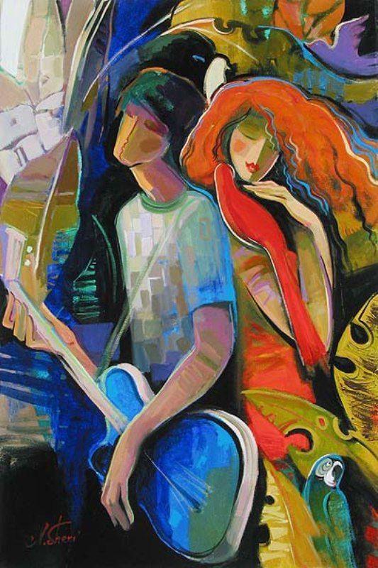 irene sheri paintings | Maher Art Gallery: Irene Sheri 1968 | French/bulgarian painter