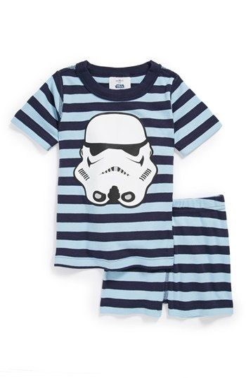 Hanna Andersson Two Piece Fitted Pajamas (Toddler Boys) available at Nordstrom