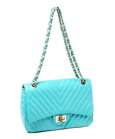 Take a look at this Teal Park Avenue Shoulder Bag by Amrita Singh on #zulily today!