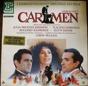 CARMEN Georges Bizet - Bande Originale du film - Orchestre National de France / Choeurs et Maîtrise de Radio France Direction : LORIN MAAZEL (1984)
