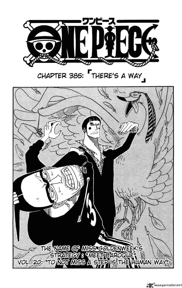 Read One Piece Manga Chapter 385 There Is a Way
