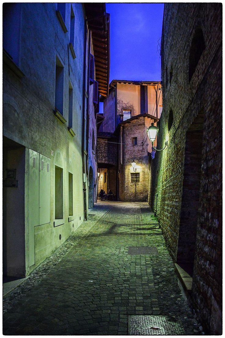 Carlo Marino - Via del Campanile a Pordenone