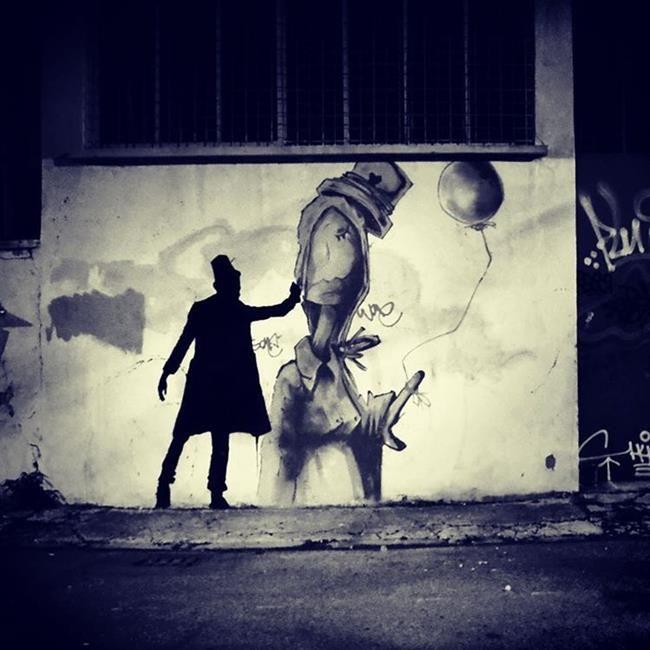 Sokakların Yeni Banksy'si Kenny Random'dan Etkileyici Sokak Sanatı Eserleri Sanatlı Bi Blog 6