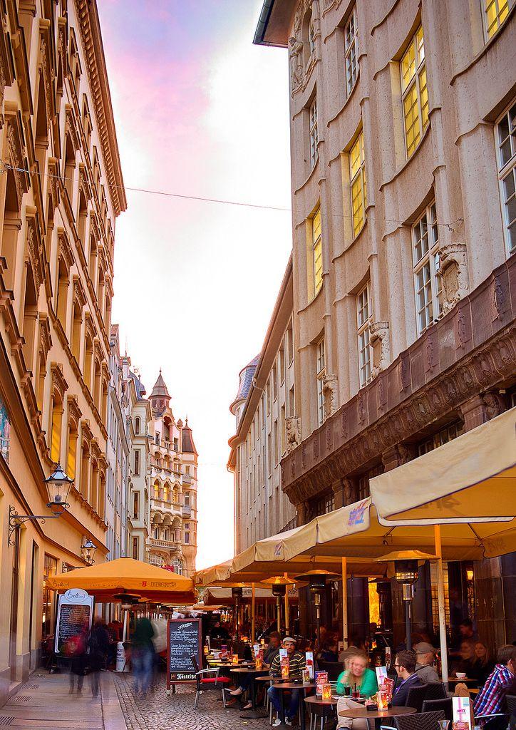 Leipzig - Barfussgässchen/Ecke Markt am Spizz