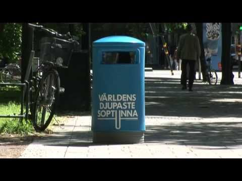 The world's deepest bin -   We believe that the easiest way to change people's behaviour for the better is by making it fun to do. We call it The fun theory.