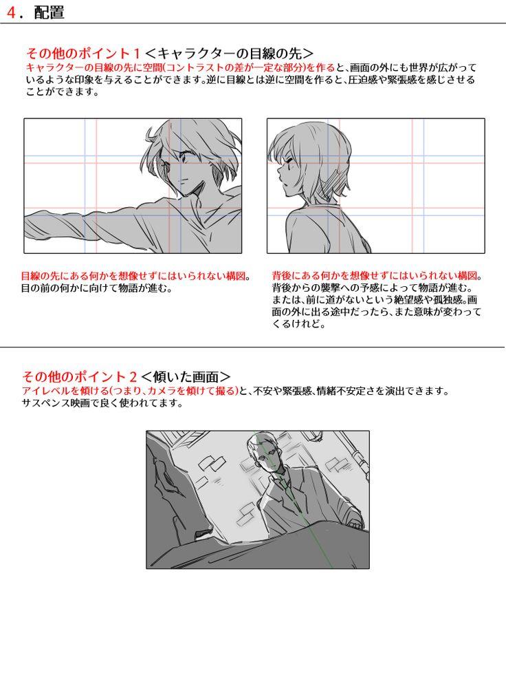 色んな構図の作り方 [16]