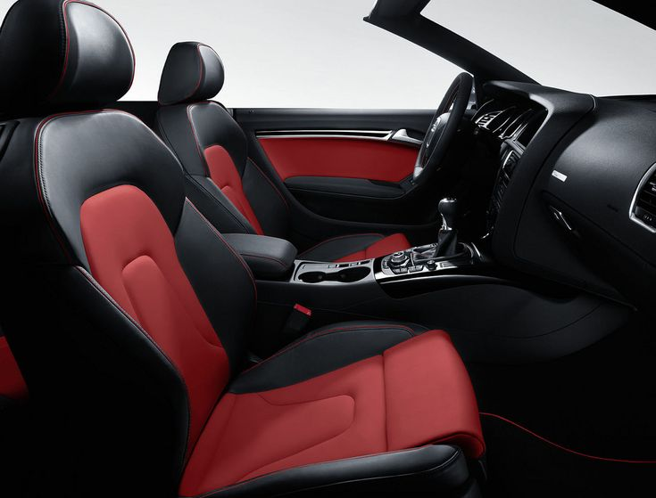 New Audi A5 Black/Red Interior | by M25 Audi