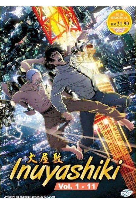 Inuyashiki Vol.1-11End Anime DVD