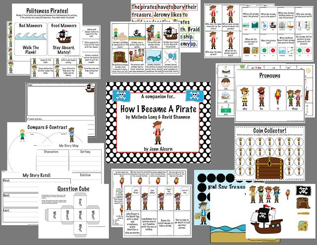 17 Best images about (Theme) Pirates on Pinterest | Activities ...