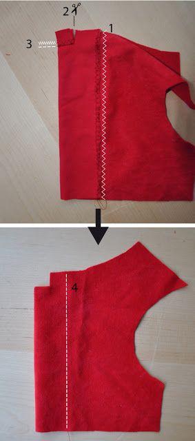 coser vestido de navidad para perro