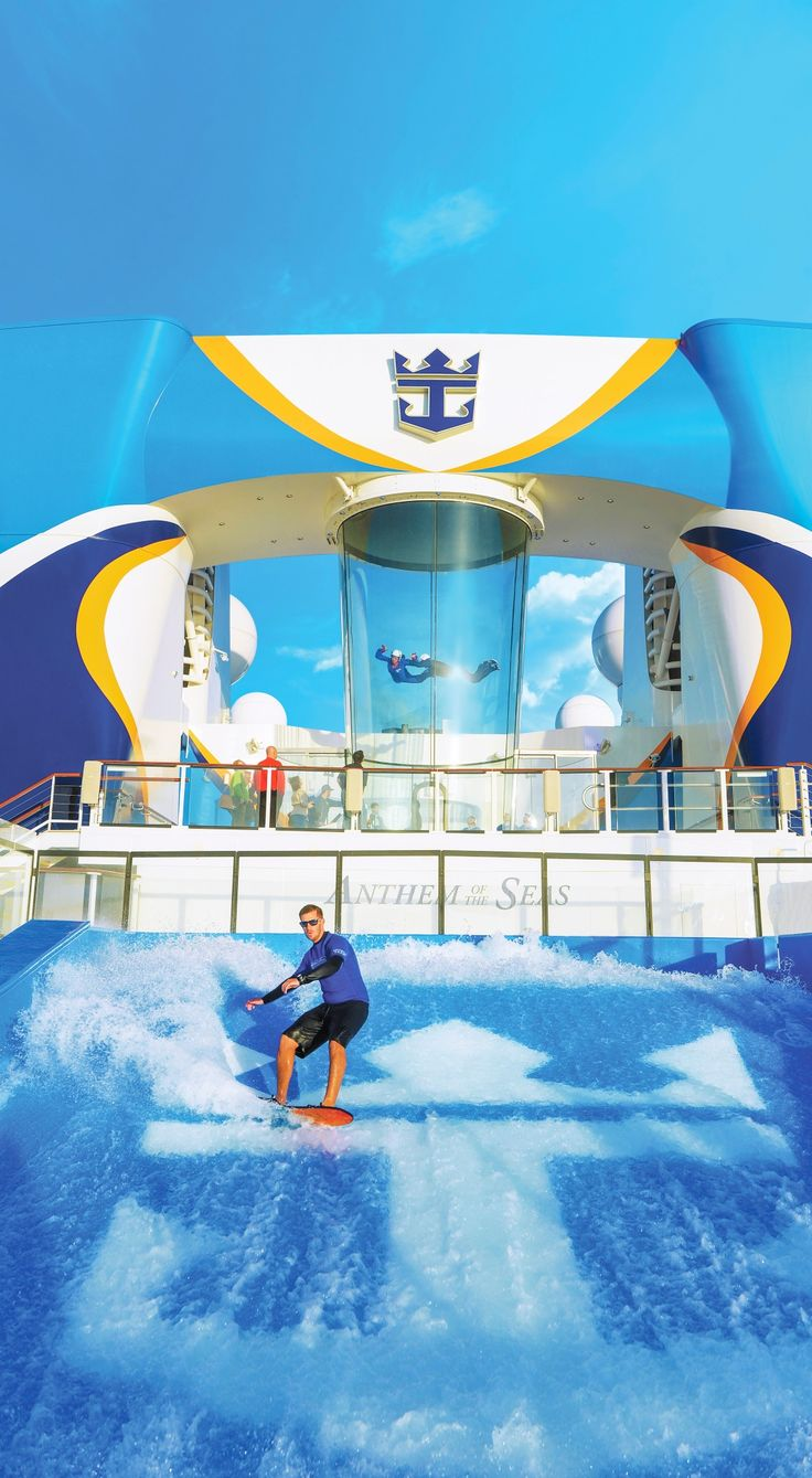 Anthem of the Seas Chasing thrills by air, land, and sea