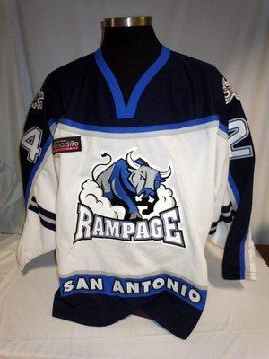 Kyle Rossiter San Antonio Rampage Game Issued Hockey Jersey - Game Used NHL Jerseys by Sports Memorabilia. $448.79. Kyle Rossiter San Antonio Rampage Game Issued Hockey Jersey