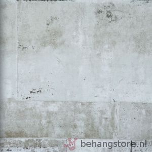 BN Eye betonlook wit l.grijs zwart - Eye behang (beton-hout) - BN (Wallcovering) - BN (Wallcovering) - Behang - Behangstore
