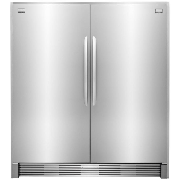 Shop Frigidaire Gallery 18.6-cu ft Freezerless Refrigerator (Stainless Steel) at Lowes.com