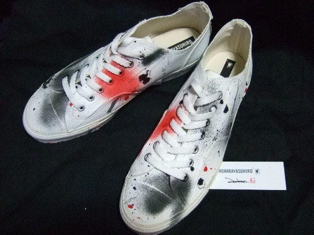 MIHARAYASUHIRO Sneakers SALE MIHARAYASUHIROxJUN INOUE limited collaboration sneakers 3