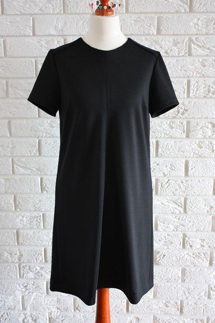 Little Black Dress #handmade #punto #jersey #black