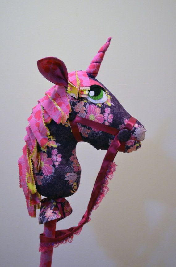 Hobby la main cheval Licorne par HFKau sur Etsy