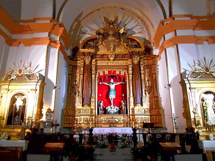 Altar. Iglesia de la Vera Cruz