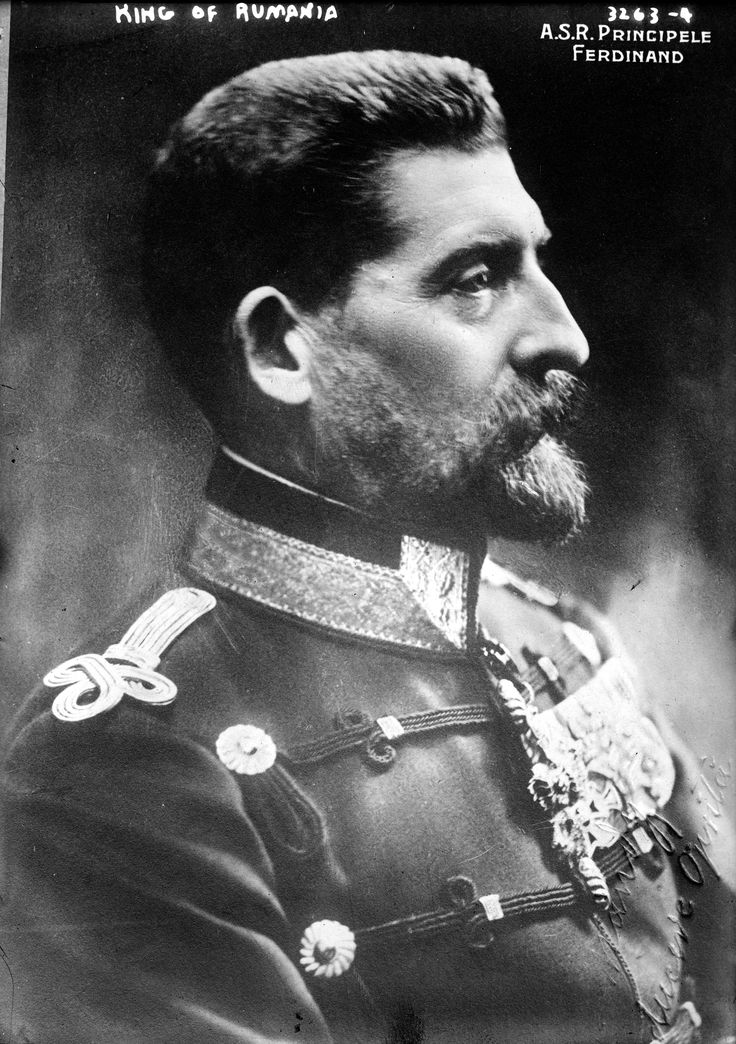 King Ferdinand I of Romania.