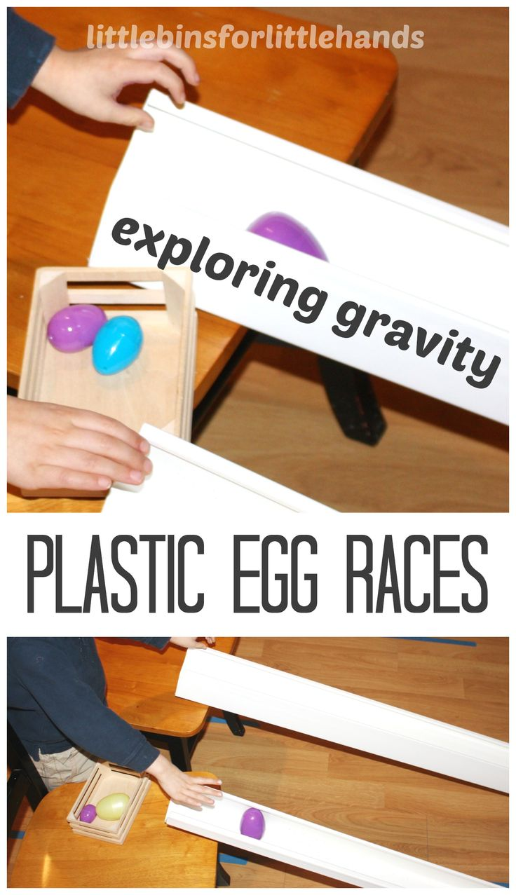 Plastic Egg Races: Exploring Angles of Ramps {Saturday Science}