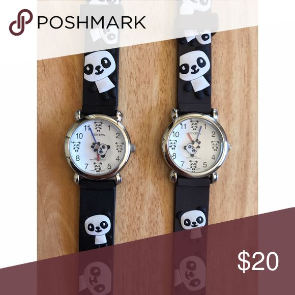 Panda Watches Perfect Gift for Children! ♡ Accessories Watches
