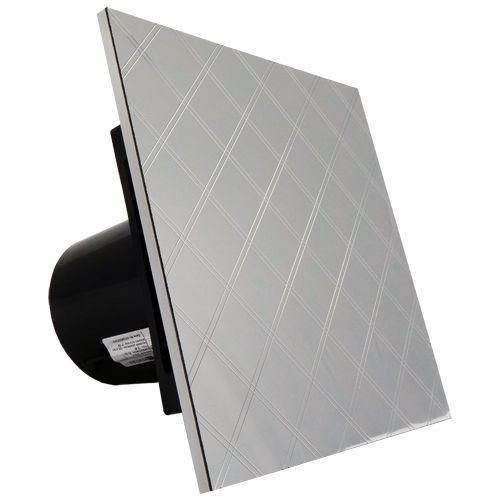 Vyberte si svůj #designový #ventilátor do vaší vyladěné koupelny např. #ventilátor do #koupelny #Rimera #Silver Rhombus S, pouze u nás podívejte se.