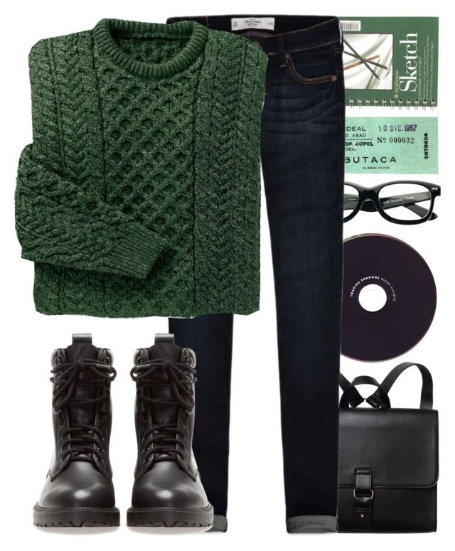 """N.8"" by jreisch ❤ liked on Polyvore featuring Monki, Abercrombie & Fitch and Pull&Bear"
