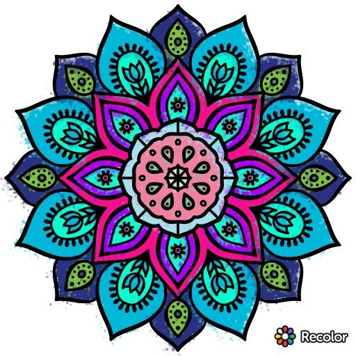 Recolor- drawing app for adults