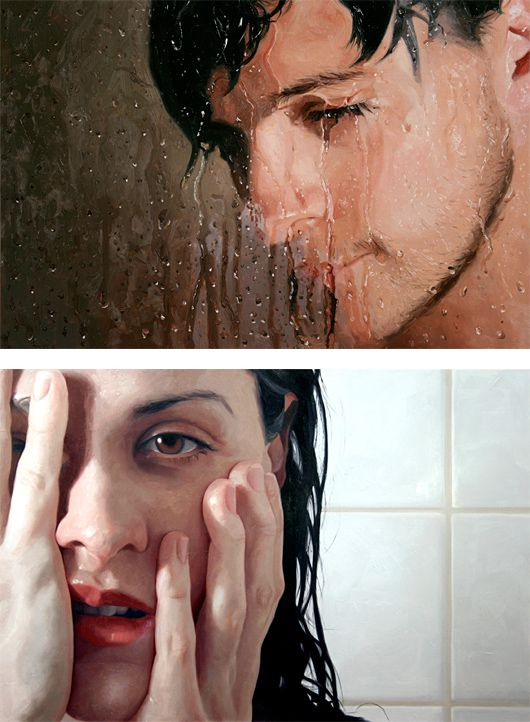 Hyper-realistic Paintings by Alyssa Monks