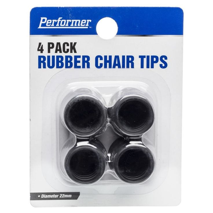 Rubber Chair Tips - 4 Pack | Kmart