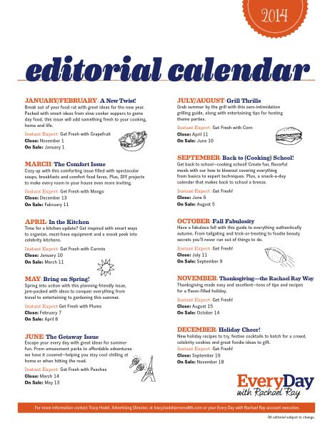 Best Editorial Calendar Images On   Content
