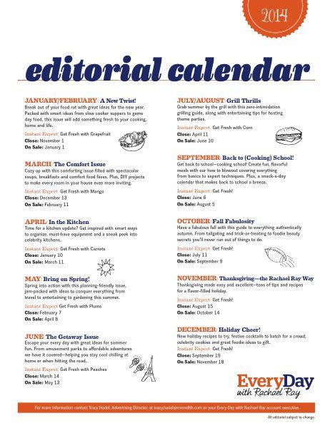 189 best Editorial Calendar images on Pinterest
